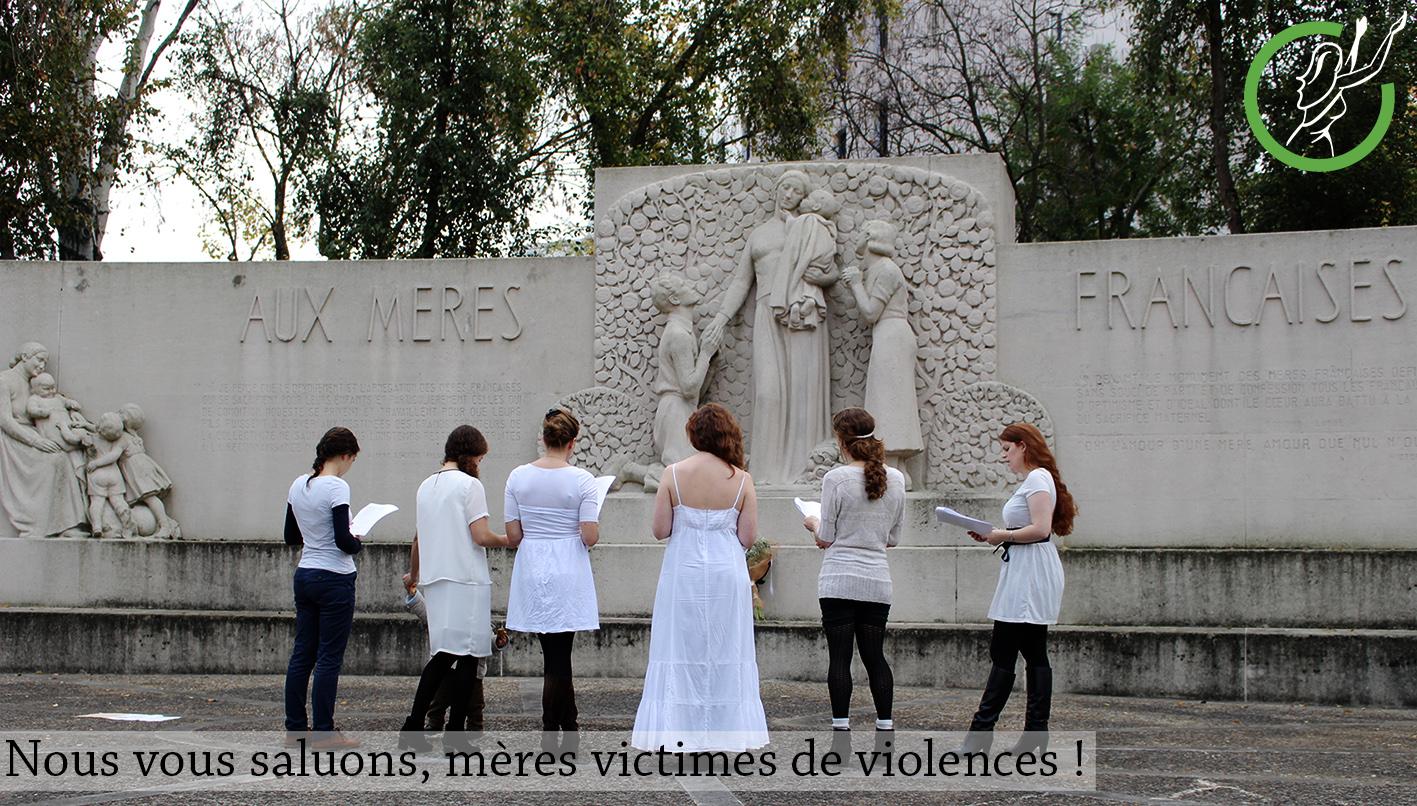 violences femmes antigones mères manifestation