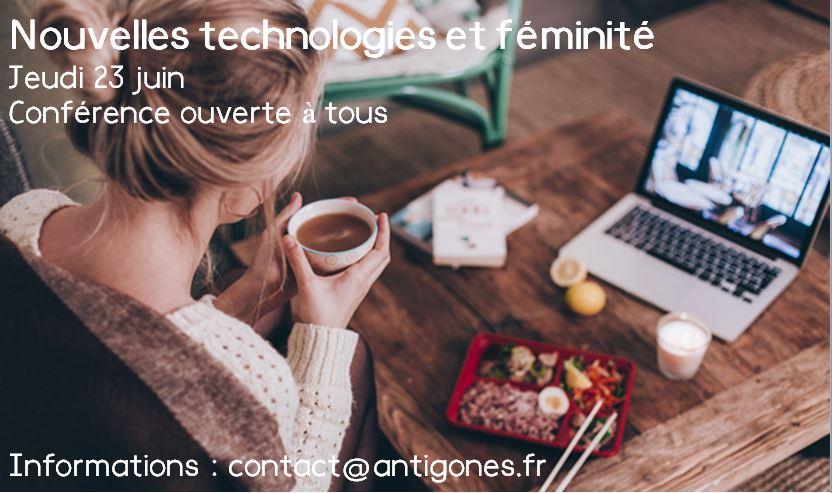 Nouvelles techno et féminité 23.06.16