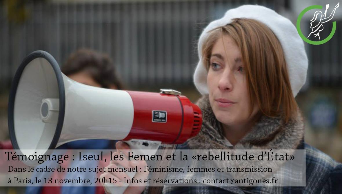 conférence lyon antigones féminité féminisme