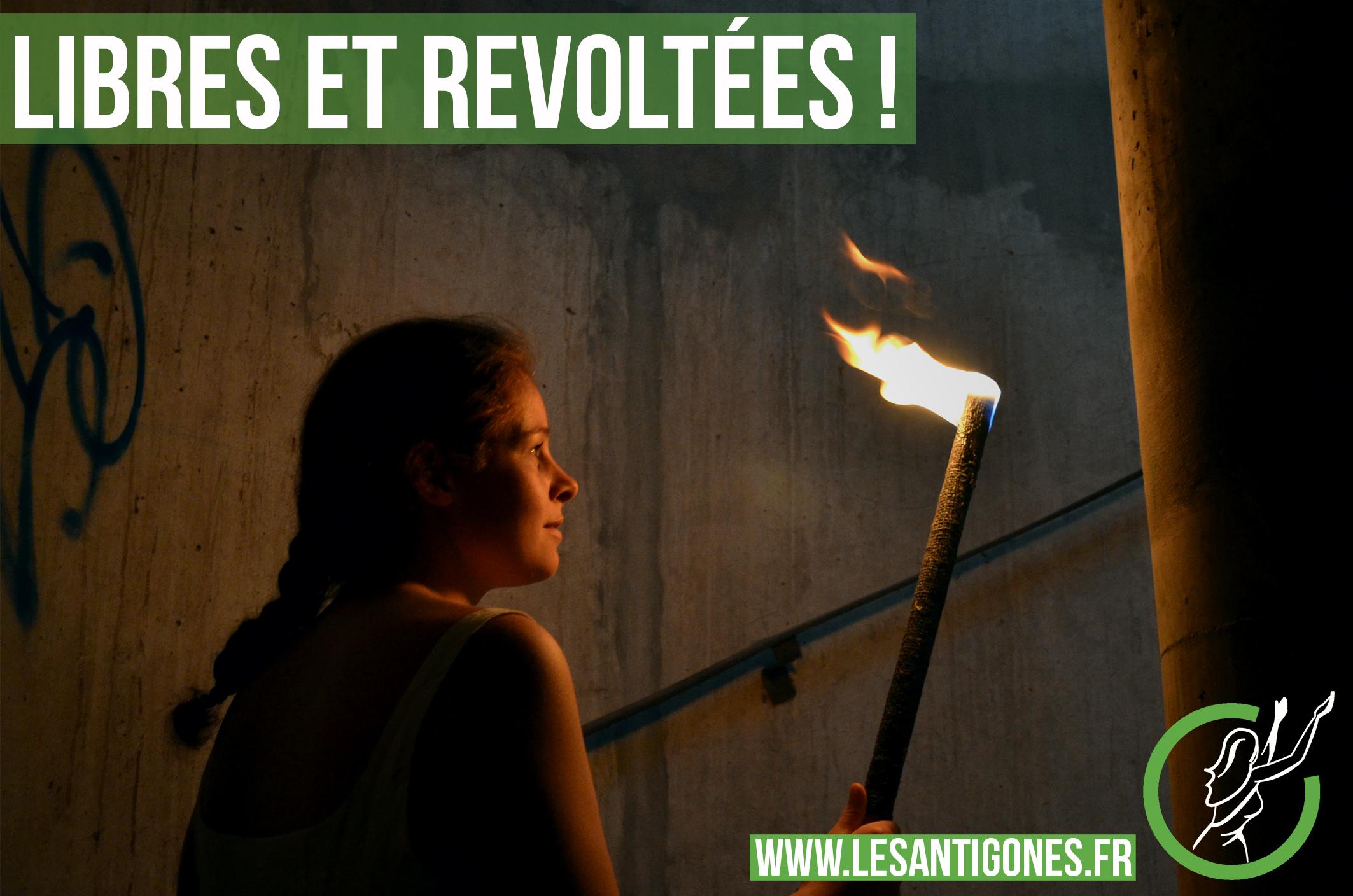 révolte liberté camus antigones féminité
